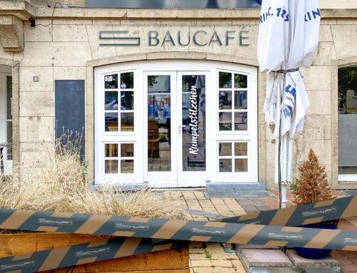 Schwan startet Baucafé auf dem Jülicher Marktplatz